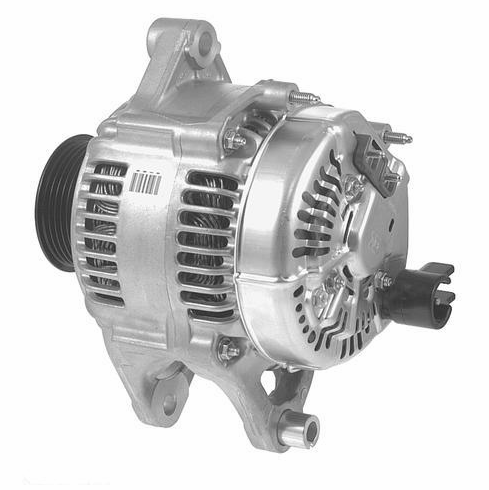 Nippondenso Style Alternator with External Adjustable Voltage Regulator
