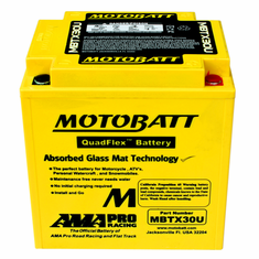 Y60N24A, Y60N24ALB, Y60N24LA Motobatt Replacement Battery