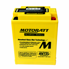 YB12AA, YB12AAS, YB12AAWS Motobatt Replacement Battery