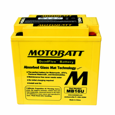 YB16BA, YB16BA1, YB16BA2 Motobatt Replacement Battery