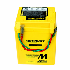 YB2.5L-C, YB2.5-C-1, YB2.5-C-2 Motobatt Replacement Battery