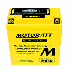 YB5LB, 12N53B Motobatt Replacement Battery