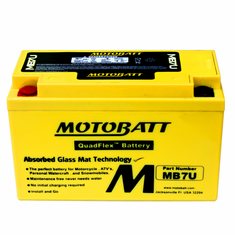 YT7BBS, YT7B4 Motobatt Replacement Battery