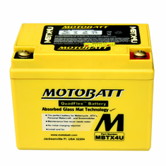 YTX4LBS, YTZ5S, YT4LBS, YB4LA, YB4LB Motobatt Replacement Battery