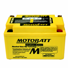 YTX7ABS, YTZ10S Motobatt Replacement Battery