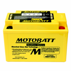YTX9BS, YT12ABS, YTZ12S, YTZ14S Motobatt Replacement Battery