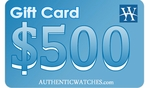 AuthenticWatches.com $500 Gift Card