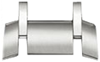 Image of Baume et Mercier 20mm Stainless Steel MX0060J7 Single Link