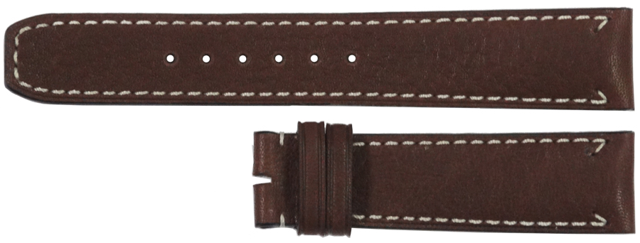 Image of Baume et Mercier Capeland 20mm Brown Leather Strap MX006W4N