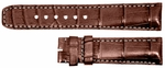 Baume et Mercier 20mm Brown Alligator Strap MX007841