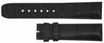 Baume et Mercier 15mm Black Alligator Strap MX002Q24