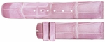 Baume et Mercier 21mm Pink Alligator Strap MX004PVD