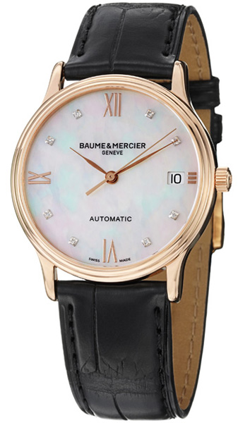 moa10077 baume mercier classima women 39 s watches. Black Bedroom Furniture Sets. Home Design Ideas