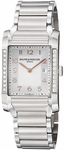 BAUME & MERCIER HAMPTON RECTANGULAR MENS