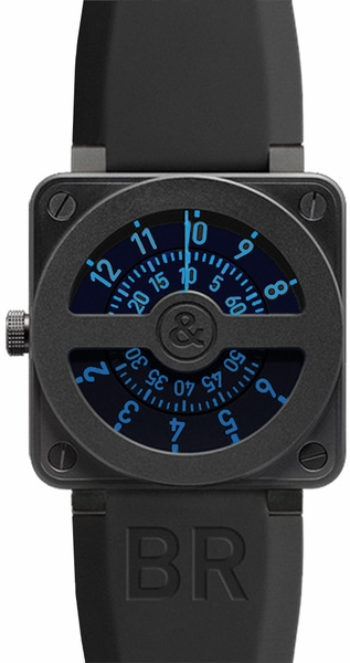 Bell & Ross Aviation BR0192-COMPASS-BLUE