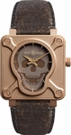 Bell & Ross Aviation BR0192-SKULL-BR