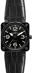 Bell & Ross Aviation BR0192-BL-CER/SCR