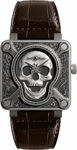 Bell & Ross Aviation BR0192-SKULL-BURN