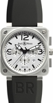 Bell & Ross Aviation BR0194-WT-ST-RS