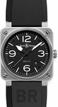 Bell & Ross Aviation BR0392-BL-ST