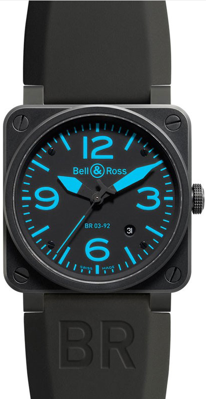 Bell And Ross Watch >> BR0392-BLUE | Bell & Ross | AuthenticWatches.com