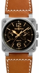 Bell & Ross Aviation BR0394-ST-G-HE/SCA
