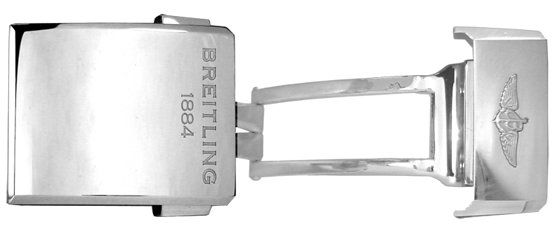 Breitling 18mm Deployment Buckle A18d2