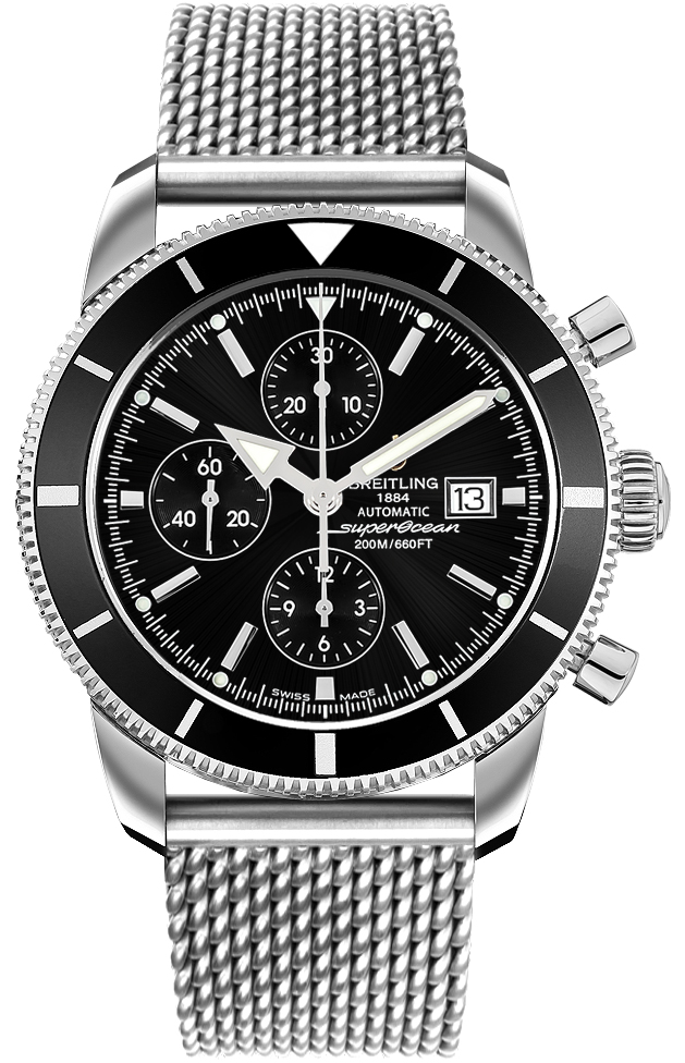 Breitling Watches For Sale >> A13320 Breitling Superocean Heritage 46 Chrono Mens Auto ...