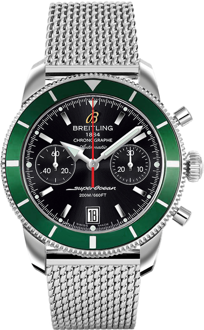 breitling perpetuelle superocean perp watches ceramic with special detail tuelle bezel