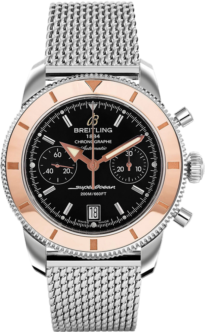 watch watchuseek month com superoceanhe diver we h anniversary ritage the special cc celebrates present featured a breitling ii now launched professional watches last new hd originally s its superocean