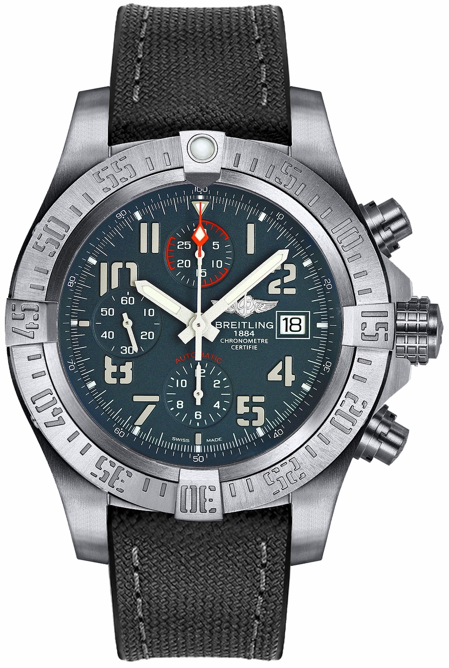 E1338310 m534 253s breitling avenger bandit mens automatic chronograph watch for Avengers watches