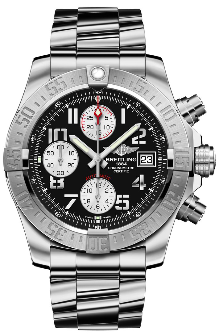 A1338111 bc33 170a breitling avenger mens watch for Avengers watches