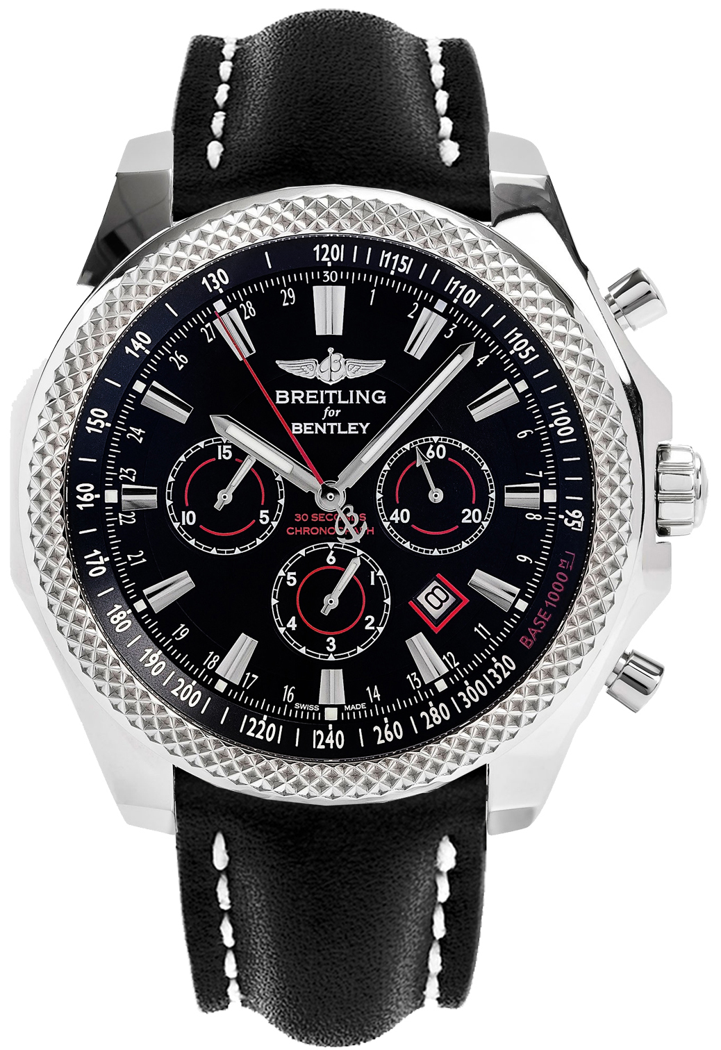 watches watch papers mens bentley box gmt silver f chronograph dial swisswatchexpo breitling