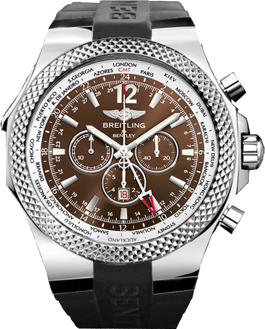 A4736212/Q554 Breitling Bentley GMT Bronze Mens Watch