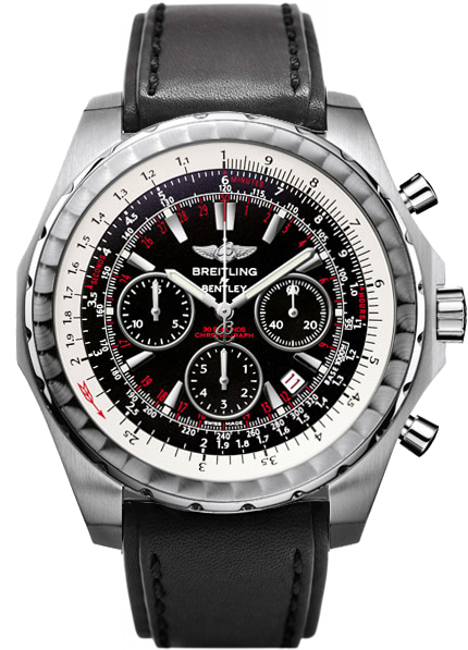 chronograph breitling for watch bentley men s motors steel watches jomashop