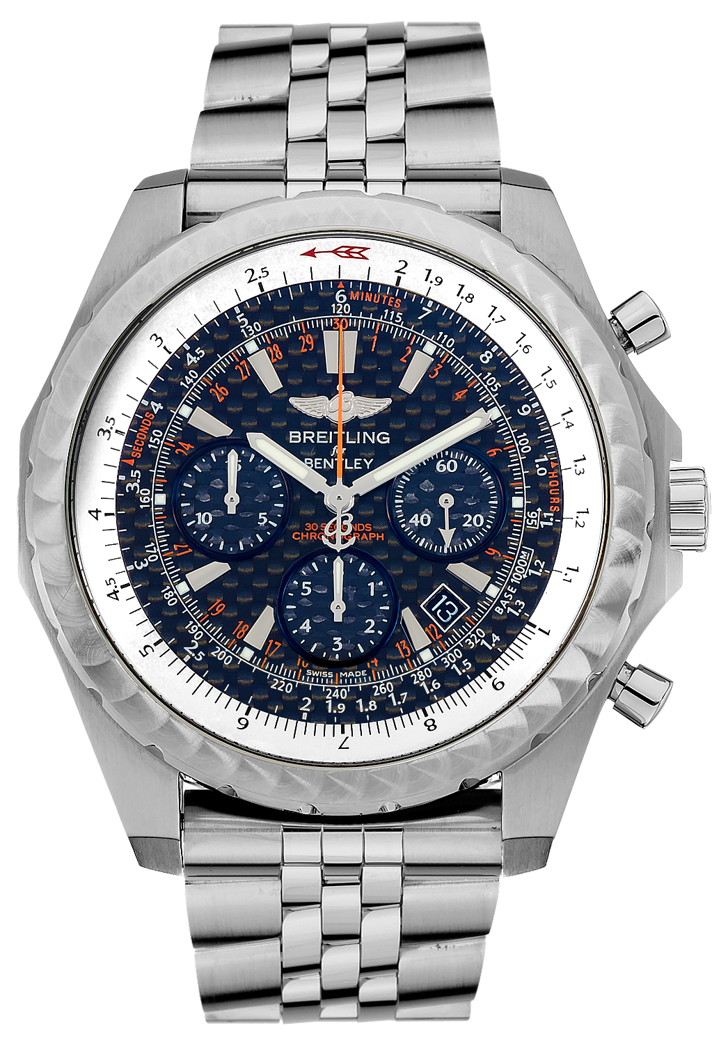 Breitling For Bentley >> Breitling Bentley Motors T Speed A253652D/BC59 Mens Limited Edition Automatic Chronograph Watch ...