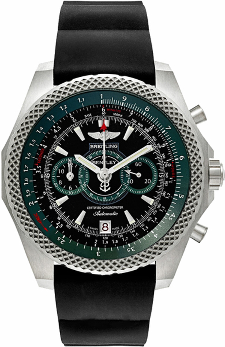 e2736536 bb37 breitling bentley supersports limited edition black dial watch. Black Bedroom Furniture Sets. Home Design Ideas