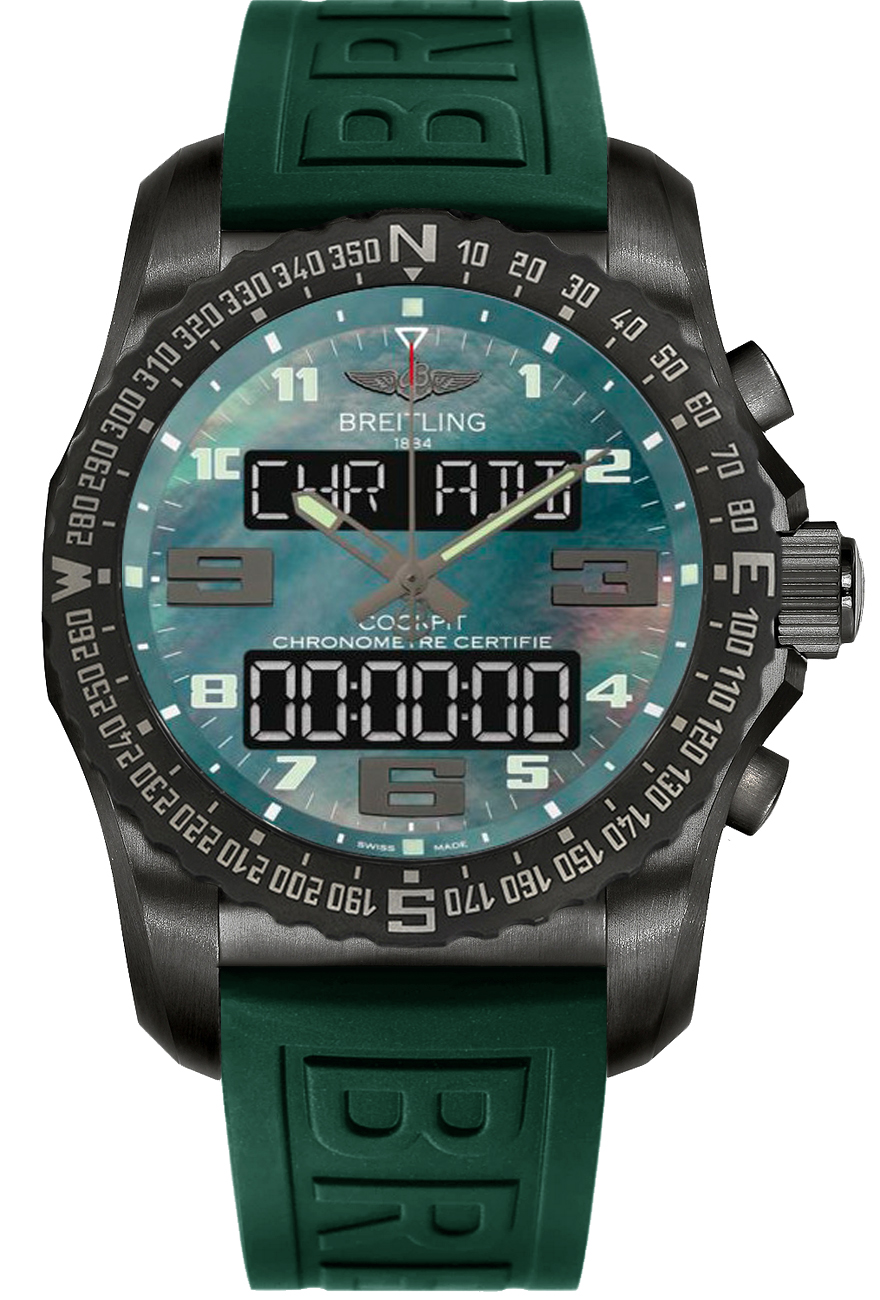 Perpetual Calendar Watch >> VB5010D3/L530-292S | Breitling Cockpit B50 | Men's Watches