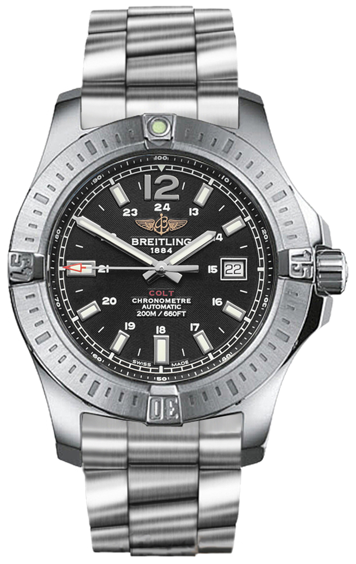 A1738811 bd44 breitling colt automatic watch for Breitling automatic