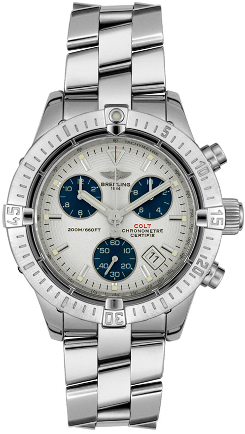 breitling chrono colt ii a7338011 g597 811a mens quartz chronograph watch brand new. Black Bedroom Furniture Sets. Home Design Ideas