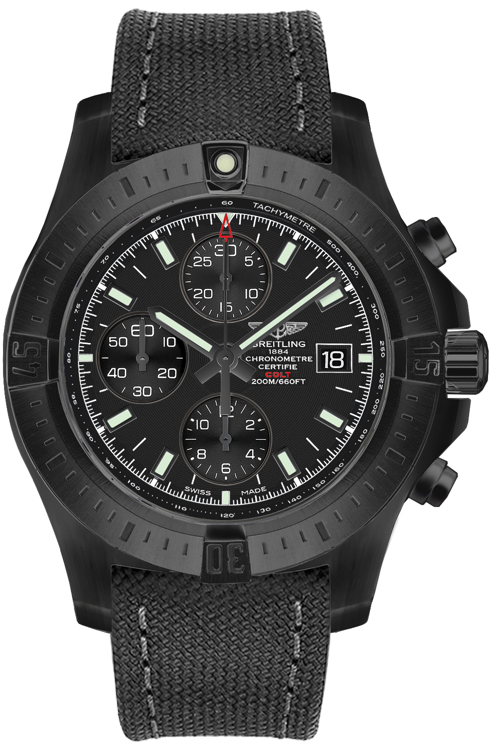 m1338810 bf01 109w breitling colt mens watch. Black Bedroom Furniture Sets. Home Design Ideas