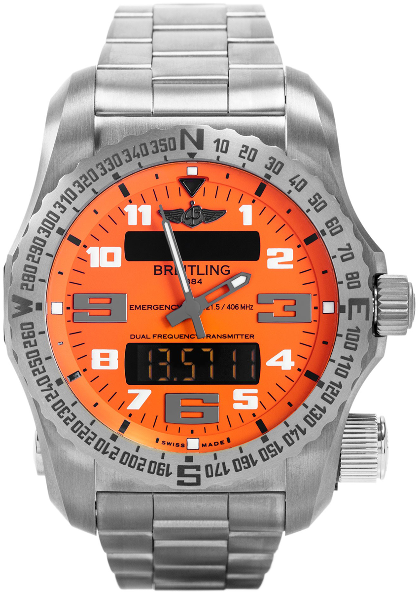 Breitling Watches For Sale >> E76325A5/O508-159E Breitling Emergency II Mens Intrepid ...