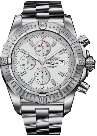 Breitling super avenger a1337011 a660 135a mens automatic chronograph watch brand new for Avengers watches