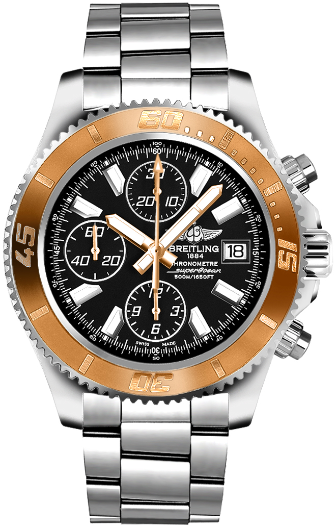 en h watches ritage heritage superocean chronograph us ii breitling