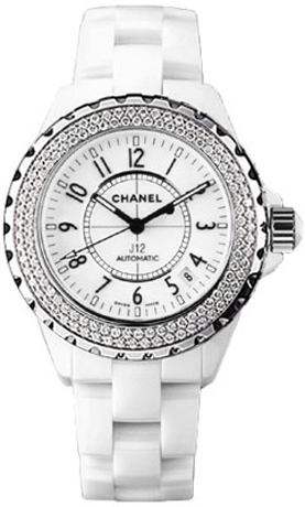 ladies chanel watches dial diamond black quartz watch