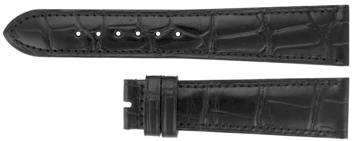 Image of Chopard 16mm Black Alligator Strap CBC16