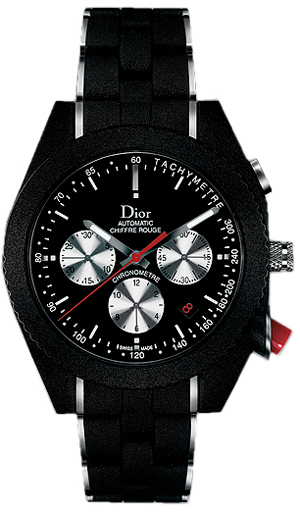 Cd084840r001 Christian Dior Chiffre Rouge Black Dial