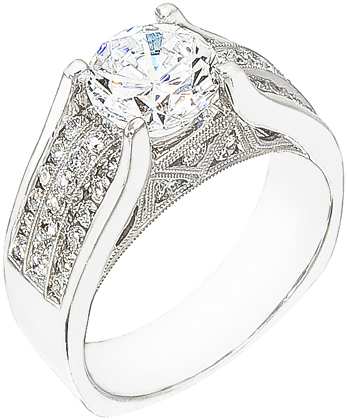fullxfull acad diamond one an unique vintage floral rings engagement forever gold carat white products set moissanite il