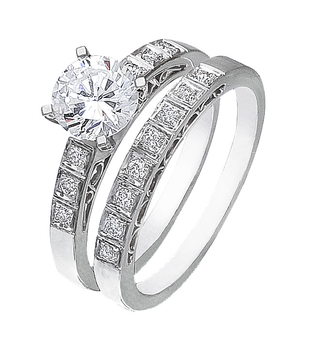 Authentic Diamonds White Gold Ladies Ring BUY NOW SAVE