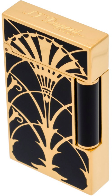 016063 Dupont Ligne 2 American Art Deco Lighter